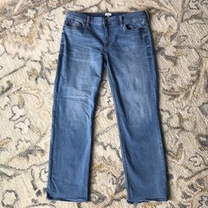 J Crew Matchstick Straight Jeans